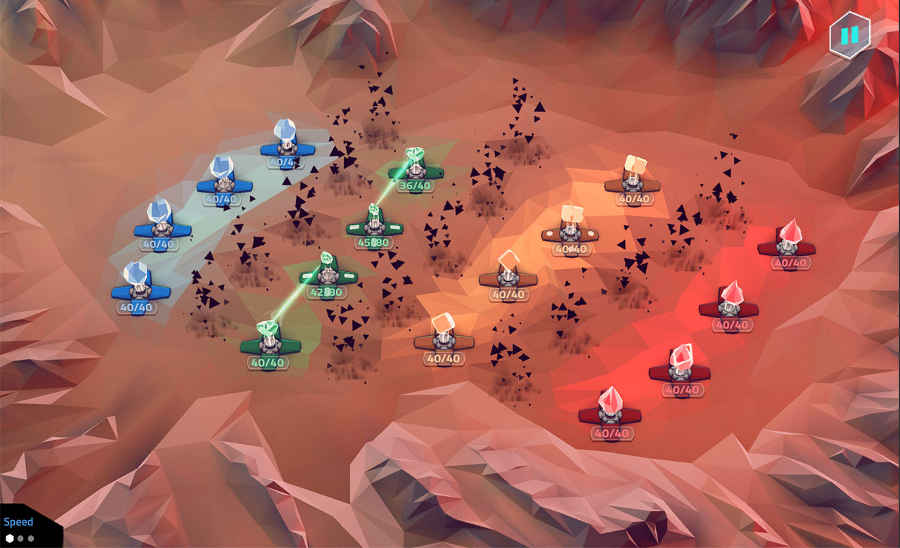 NeoWars - a strategy game for mobile